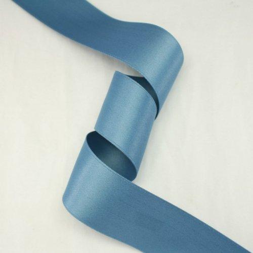 - Blue gray satin ribbon - 5 yards of 50mm (2.0
