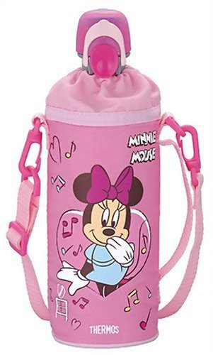 THERMOS plastic bottle caps and cooler Disney Minnie (500ml PET bottles for) Pink RDI-500DS P