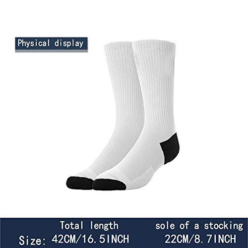 WONDERMAKE Mens Teenagers Thick Warm Compression Socks Cotton Long Tube Running Football Skiing Cartoon Dinosaur Set Socks