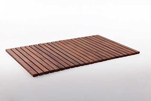 Nordic Wood - Nordic Style Teak String Shower/Bath/Spa Mat 31.4″ x 19.6″ (slats 19.6″ in)