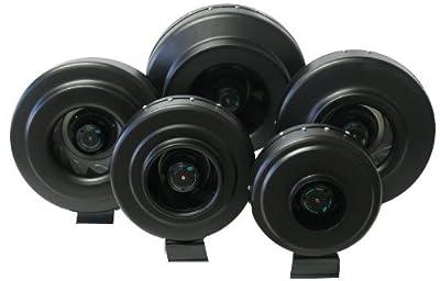 Hydroponic Inline Duct Exhaust Fan Quiet & Efficient Ventilation