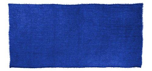 Abeelah Cotton Crinkle Hijab Scarf- Muslim, Indian, African Fashion Compatible (Royal Blue) by Abeelah (Image #7)