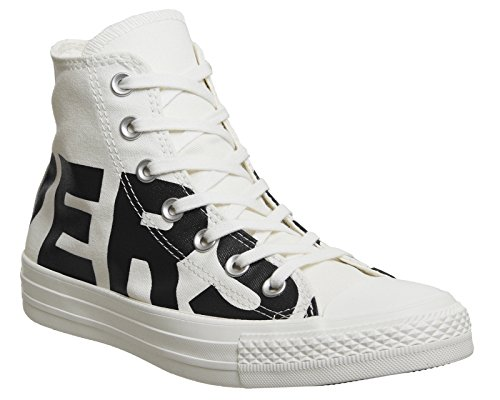 Converser Mens Ct All Star Salut Formateurs, Blanc Blanc