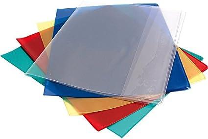 ELBA Prot/ège-cahier PVC 12//100/ème 24x32 Transparent incolore