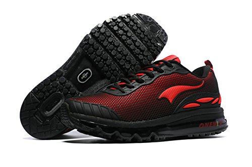 OneMix, Scarpe da corsa uomo Black Red
