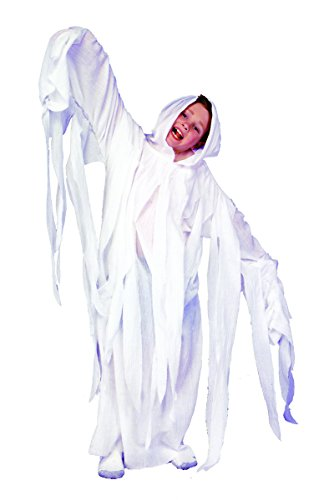 Child Ghost Robe - Ghostly Ghost Child Robe Costume White