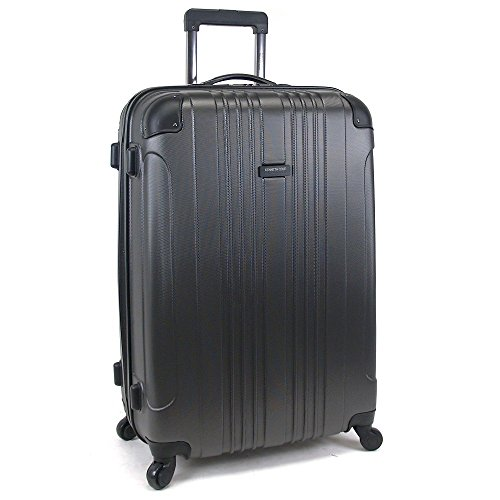 28' Wheeled Suitcase (Kenneth Cole Reaction 28' Let It All Out Luggage, Suitcase in Grey)