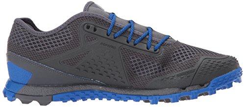 Reebok Mens All Terrain Super 3,0 Trail Löpare Svart / Ljusgrå Grå / Vital Blue