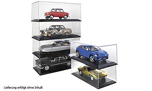 Vitrine 6x Kunststoff-Vitrine für je 1 x 1:18 , Modellauto, Fertigmodell, MCG 1:18