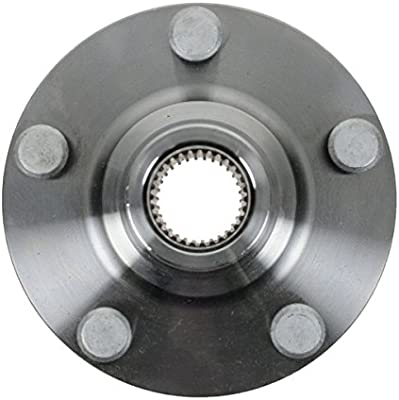 Hub Bearing Assembly for 2010 Toyota Tundra Fits ALL TYPES Wheel-Rear Pair