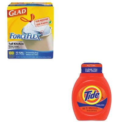 KITCOX70427PAG13875 - Value Kit - Procter amp; Gamble Professional Acti-lift Laundry Detergent (PAG13875) and Glad ForceFlex Tall-Kitchen Drawstring Bags (COX70427)