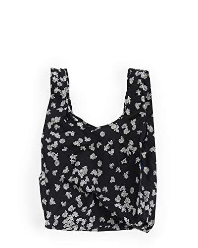 BAGGU Standard Reusable Shopping Bag, Eco-friendly Ripstop Nylon Foldable Grocery Tote, Popcorn