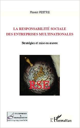 En ligne La responsabilité sociale des entreprises multinationales epub, pdf