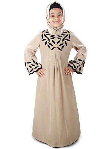 MyBatua-Mahreen-Warm-Grey-Causal-Wear-Kids-Abaya-AY-271-K