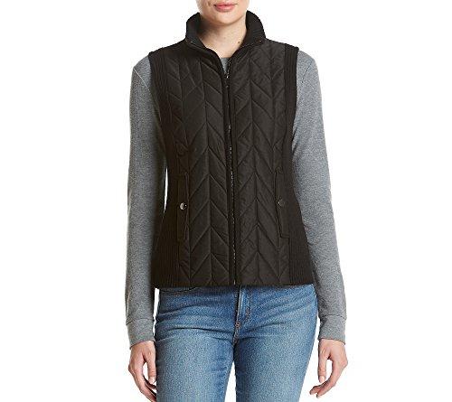 jones-new-york-womens-turtleneck-zip-vest-black-large