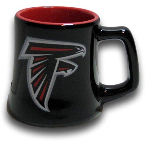 Falcons Atlanta Ceramic (Atlanta Falcons 2 Ounce Sculpted Ceramic Mini Mug Shot Glass - Series 2)