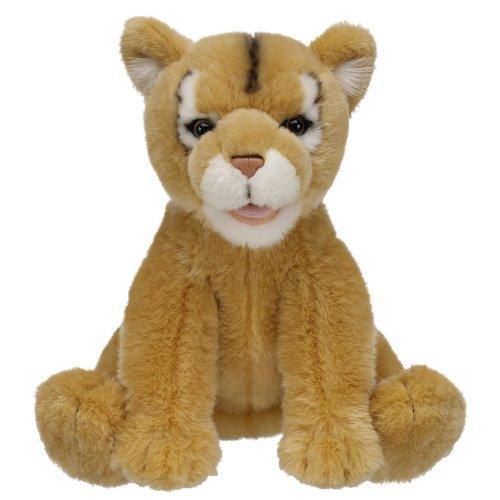 Build a Bear Workshop Puma Cat Stuffed Animal, 15 in.
