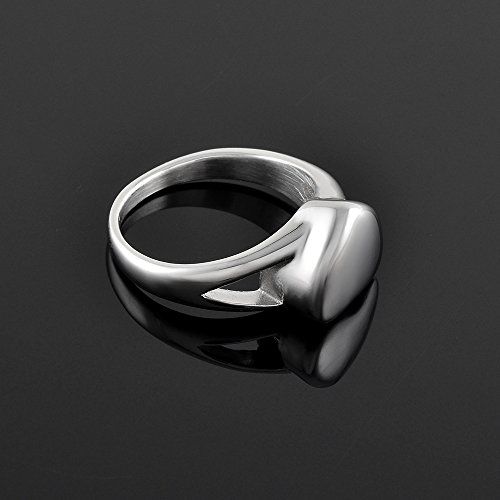 Valuable Pack Men Women Eternity Ring Stainless Steel Keepsake Ring Cremation Jewelry for Ashes