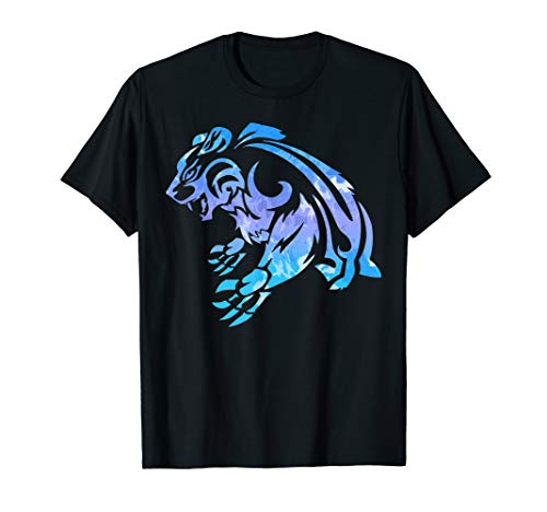 Cool Bear T Shirt Cool Bear Shirt Tribal Bear Shirt Bear T
