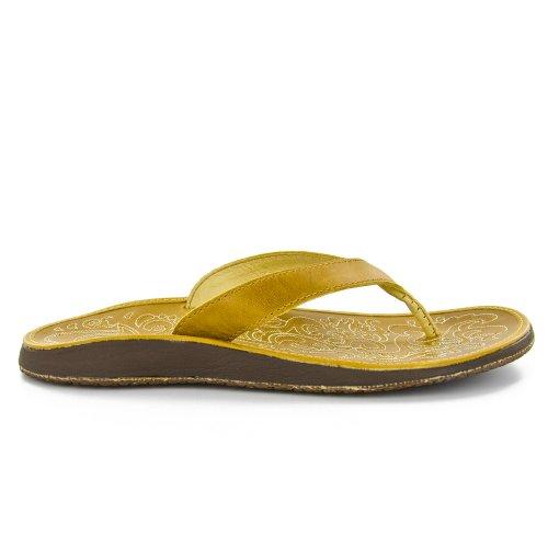 OluKai Golden Golden Paniolo Women's Sandal HISqHOw7r
