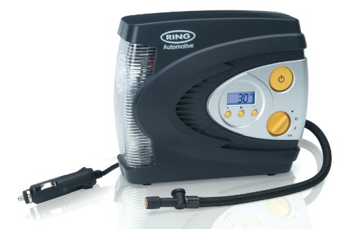 Ring RAC630 12V Digital Tyre Inflator, Air Compressor with Auto stop, Tyre...
