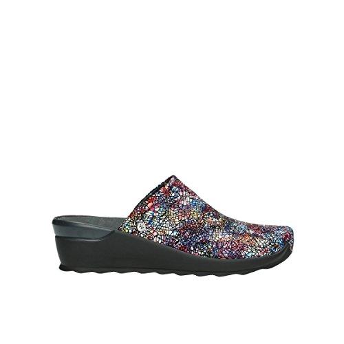01510 40970 Mtallic Zapatos Lace black Leather comodidad Up Wolky nbsp;Pima Multi RxqZwfIIS