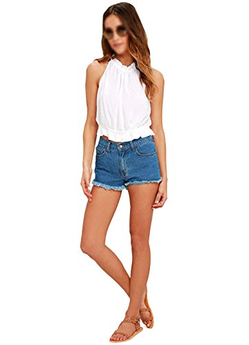 LA HAUTE - Camiseta sin mangas - para mujer blanco
