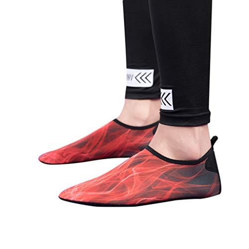 Piedi Rosso on Sport Quick Yoga Di Donna Aqua Paio Fashion Socks Nudi Water beikoard Sportive Scarpe A dry FwTnzaqACx
