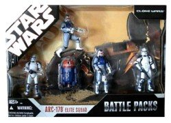 [Star Wars Clone Wars Target Exclusive ARC-170 Elite Squad with 5 Figures] (Star Wars Chopper)