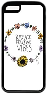Radiate Positive Vibes Quote Theme Iphone 5c Case