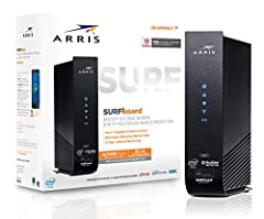 The Surfboard SBG6950AC2 is a DOCSIS 3.0 16x4 cable modem, Wave 2 AC1900 Dual Band Concurrent Wi-Fi Access Point and 4-Port Gigabit Ethernet Router, all wrapped up in one device. Plus it features Arris secure home Internet by McAfee, keeping ...