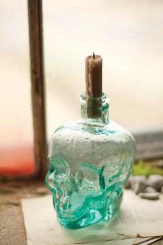 Skull Bud Vase, 4 x 5 x 6.5 in