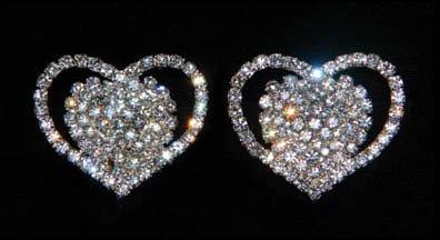 #15677 - Heart Shoe Clips