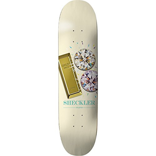 Plan B Skateboards Ryan Sheckler Bling Skateboard Deck - 8.1'' x 31.75'' by Plan B