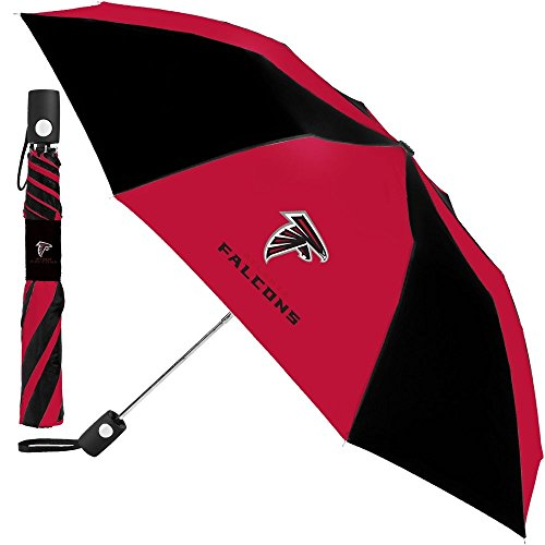 Atlanta Falcons Rocks - NFL Atlanta Falcons Auto Folding Umbrella