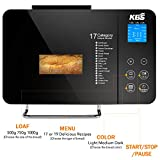 KBS Stainless Steel Bread Machine, 2LB 19-in-1