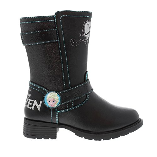 Character Kinder Calf Boots Baby Mädchen Flache Stiefeletten Disney Frozen