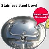 CGOLDENWALL Stainless Steel Combinaton Emergency