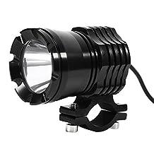 30W White Motorcycle LED Headlight Spot Lamp Driving Light Indicator Light Bulb