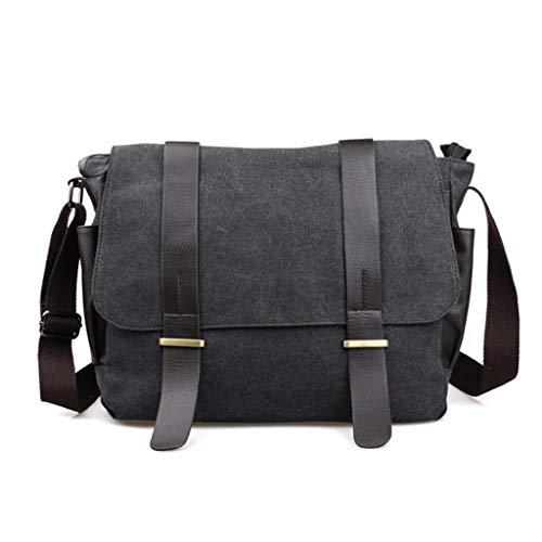 S Uomo Viaggio Studenti Da Per Nero Nero Borsa Rxf Bag colore Messenger Dimensioni wqxPXSW1E