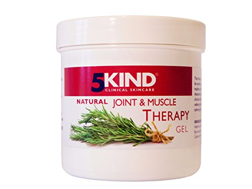 Natural Joint and Muscle Therapy Gel by 5kind Full of Natural Extracts to...