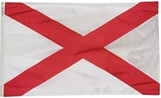 product image for All Star Flags 3x5' Alabama Heavy Weight Nylon Flag from