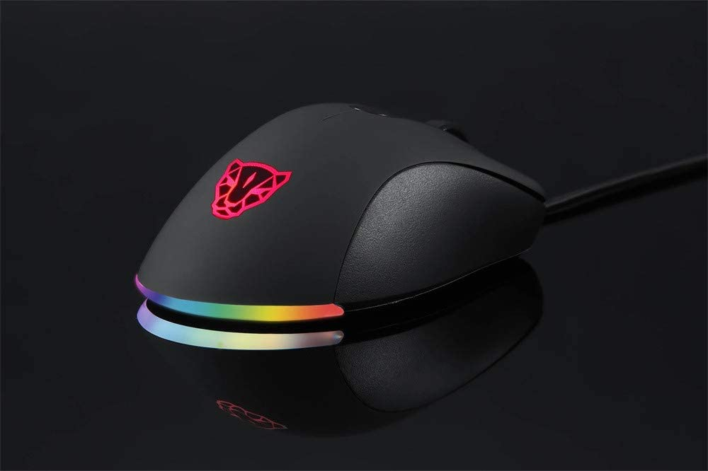 Ambidextrous Excellent Grip Gamer Gaming Yeefant LED 6200DPI Professional for Switch RGB Esport Game Mouse Comfortable for All Hand Sizes