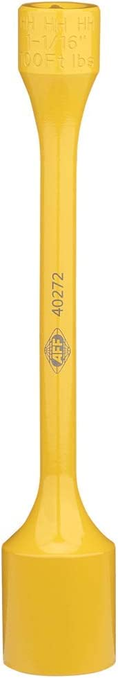 100 ft//lbs Light Orange 40272 AFF Torque Limited Socket 1-1//16 1//2 Drive