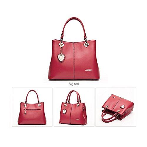 Panzexin Main sac Épaule Vin Pocket bandoulière Supérieure Poignée À à grise Sac Femmes Mode Rouge Bleu multi zzrq1