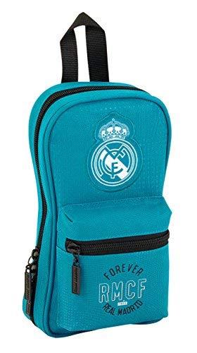 8f7e742be Safta Neceser Con 4 Estuches y útiles Real Madrid 3ª Equip. 17/18 Oficial  120x50x230mm: Amazon.es: Ropa y accesorios