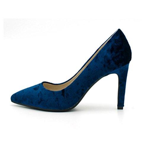talons pour talons hauts talons sexy à avec à XIE des verni chaussures femmes hauts chaussures color amende Pointu cuir en simples hauts naked q6w4wvIaP