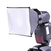 Universal Mini SoftBox Diffuser for Canon Nikon SB-800/900 Sony Flash Camera Speedlight