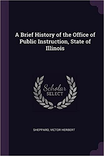 A Brief History Of The Office Of Public Instruction State Of