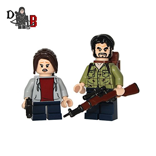 Us Minifigurines Last Et Ellie Joel Bricks Demonhunter Of The qBII48
